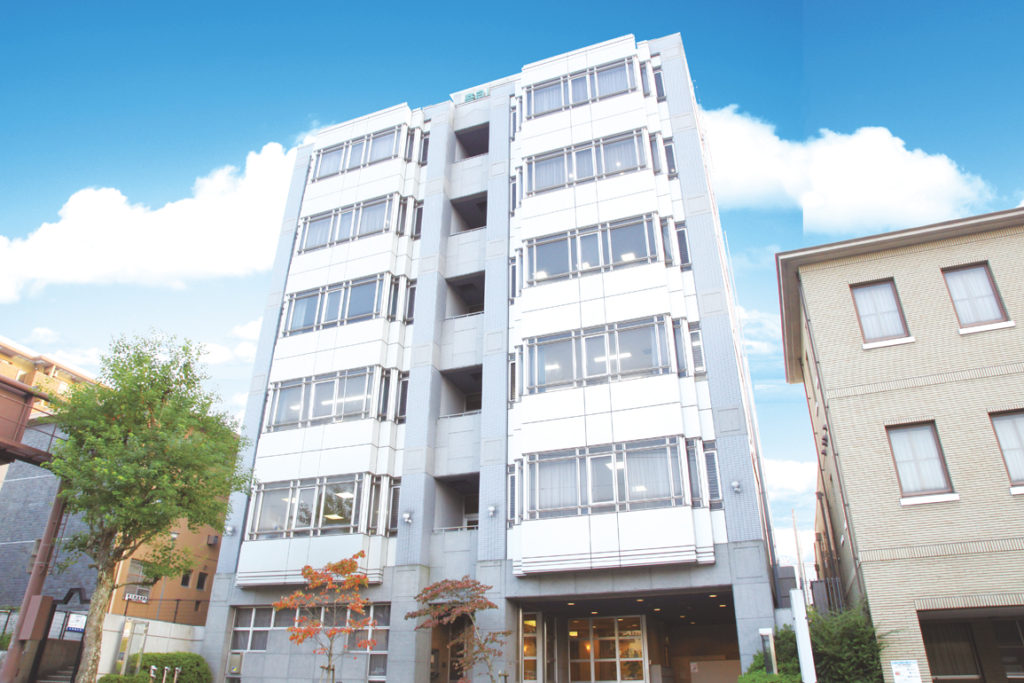 奈良リハビリテーション専門学校の外観